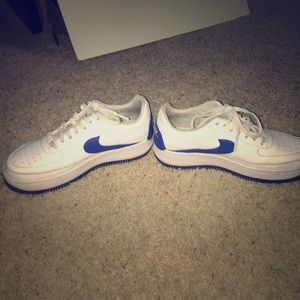 Air Force 1 low top Switzerland blue and white